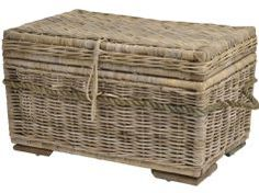 Kobo Rattan Coffee Trunk Wtih Manila Rope Plus Umbrella Stand - Libra