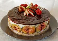 Figs and chocolate. Wish I could get the recipe.