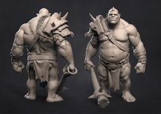 New ogre creature creation by Pavel Protasov sculpted in ZBrush and rendered in . New ogre creatur Zbrush Character, Character Modeling, 3d Character, Character Concept, Concept Art, Character Design, Creature 3d, Creature Concept, Creature Design