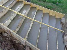 nous avons fait un des escaliers extrieurs dbut juillet 1 journe extensible pour faire le - Ciment Color Exterieur