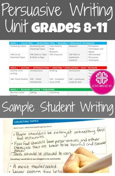 persuasive essay plan this organizer contains great details for  persuasive and argumentative writing unit lesson plans sample writing