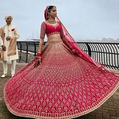 We're loving all the Red in this @anitadongre lehenga! Are you? . . Tag the love of your life!  . . For more such wedding inspiration follow @venuemonk  . . Browse from the widest range of 3000 Wedding Venues in Delhi NCR! Visit the link in bio to book at the lowest guaranteed price!  #WeddingInspirationByVM #WeddingPhotographs #WeddingLehenga #BridalInspiration #WeddingTrends #WeddingInspo #WeddingIdeas #WeddingInspiration #BridesOf2018 #Love #BridesnGroom #TwirlingBride #WeddingGoals…