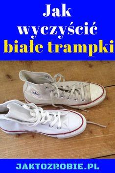 Jedną z największych tajemnic w domu jest to jak wyczyścić białe trampki. Przydatne i praktyczne, ponieważ białe buty często tylko wyglądają pięknie i nieskazitelnie po wyjęciu z pudełka. Jak wyczyścić białe trampki? Po pierwsze: Zapobieganie jest kluczowe. Zanim po raz pierwszy założysz Cleaning Hacks, Outfit, Sneakers, Image, Shoes, Fashion, Tennis Sneakers, Sneaker, Zapatos