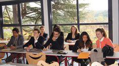 Salle de cours de l'Ecole Supérieure Internationale de Savignac