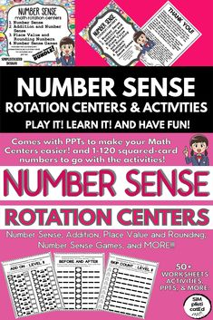 Do you want to encourage your kids to think flexibly with numbers and with confidence Number sense on early math development and complex mathematical thinking is very imp. School Resources, Math Activities, Teaching Resources, Classroom Resources, Math Games, Early Math, Early Learning, 3rd Grade Classroom, Teaching Tips