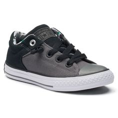 Kids' Converse Chuck Taylor All Star High Street Slip Camouflage Sneakers, Med Grey