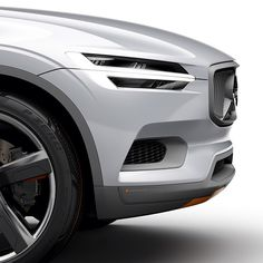Just around the corner -- the next Volvo concept car.