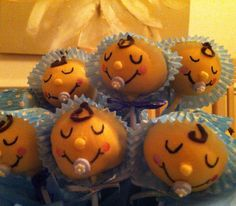 Miniature Blossom Gateux #cakepops #cake #pops #wickepops