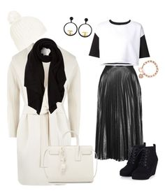 """""""Casual Dress Up"""" by sweetyincago ❤ liked on Polyvore featuring MaxMara, Topshop, ComeForBreakfast, Chanel, Michael Kors, Yves Saint Laurent, Cash Ca, women's clothing, women and female"""