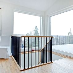 Metal Stair Railing, Villa, Interior, Room, Inspiration, Furniture, Staircases, Home Decor, Design