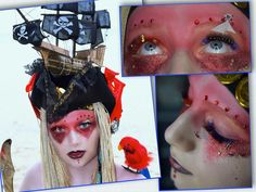 Nautical Fantasy Lash Art Pirate, I lashed a boat! 2nd Place Fantasy Lashes, Fantasy Lash art, Lash artist Cindy Nicholls iLashtique