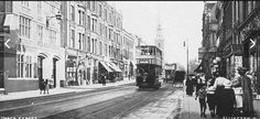 Upper Street, Islington, looking south, St Mary's Church in the distance c. 1908