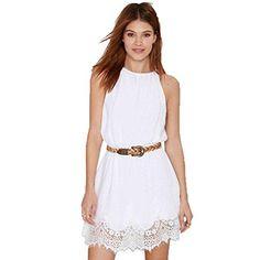 Plusasa Women Fashion Summer Lace Hem Halter Scallop Slee... http://www.amazon.com/dp/B015WIIHWC/ref=cm_sw_r_pi_dp_DOZqxb0JD2TN2