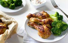 Orientální kuřecí paličky, marinované #lowcarb #keto Lowes, Low Carb Recipes, Broccoli, Detox, Meat, Chicken, Vegetables, Fitness, Low Carb