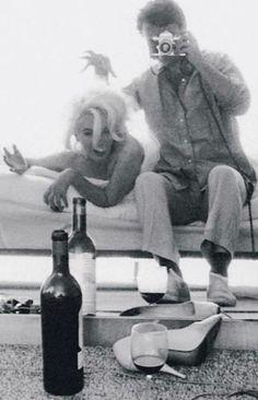 "Marilynand photographer Bert Stern ""The Last Sitting"" 1962"