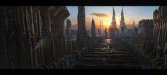 Futuristic City Scifi
