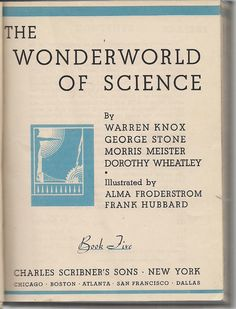 Wonderworld of Science