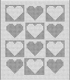 46 Ideen häkeln Decke Muster geometrische Garne, Knit blankets are one of our favorite weaves that we see in our grandparents. with knitted blankets that have a nostalgic air, you can travel to the past in y Filet Crochet, Crochet Amigurumi, Crochet Chart, Crochet Stitches, Bobble Crochet, Crochet Heart Blanket, Baby Afghan Crochet, Blanket Yarn, Knitted Baby Blankets