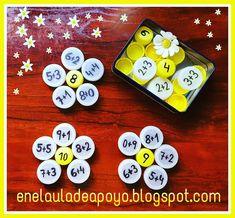 Pin by Lisa Wein on Mathe Math Classroom, Kindergarten Math, Teaching Math, Math Stations, Math Centers, Early Math, Math Addition, Addition Facts, Math Numbers