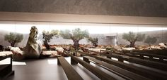 Gallery - Studio Kuadra's Iconographic Design Selected as Winner of Cinisi Church Competition - 8
