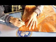 Bakır Rölyef Sanatı - YouTube