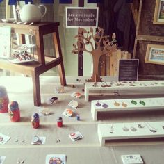 Part of my display for the #Amsterdam #popupshop ! #market #display #sophiekells #earrings #jewellery #jewelry #necklace