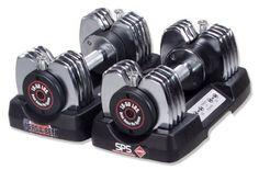 Stamina 50-Pound Versa-Bell Adjustable Dumbbell Pair