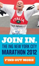 NY Marathon- Hands down voted the #1 marathon to ever run- agreed!