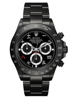 Black Rolex Watch