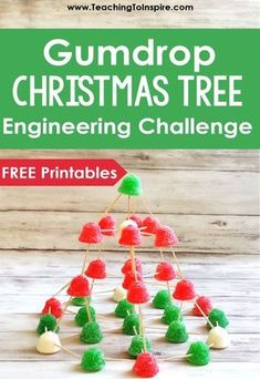 Even during the holidays, you can start STEM activities at school. Build these gumdrop trees with your students to practice valuable skills. activities Christmas STEM Activity: Gumdrop Christmas Tree - Teaching with Jennifer Findley School Christmas Party, Christmas Math, Christmas Party Games, Holiday Fun, Christmas Tree, Christmas Activities For School, 2nd Grade Christmas Crafts, Kindergarten Christmas, Christmas Ideas