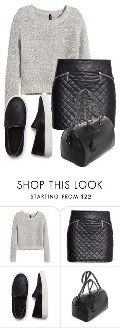 """Sin título #224"" by camifpl21 ❤ liked on Polyvore featuring H&M, SELECTED, Yves Saint Laurent, CaraDelevingne, kendalljenner and louteasdale"