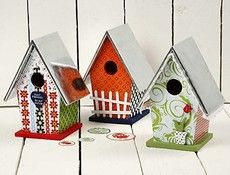 DIY bird houses