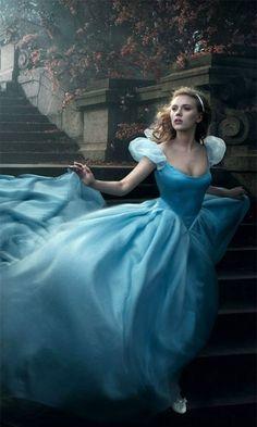 Scarlett Johansson As Cinderella by Annie Leibovitz