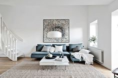 354 images about Living. on We Heart It Canapé Design, House Design, Interior Design, Sofa Styling, Duplex, Grey Flooring, Room Themes, Dream Rooms, Scandinavian Interior