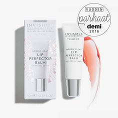 The best lip balm of the year: Lumene Invisible Illumination Noridc Light Lip Perfector Balm / 2016 Best of Beauty by Demi Magazine