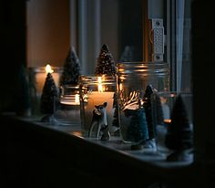 I know this is Christmas but it is so spooky looking. This might be the way to display my Jacob Marley collection.
