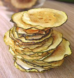 Make your own zucchini chips with this recipe.