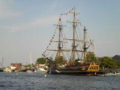 "Tall Ship named ""The Bounty"""