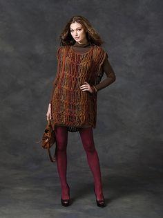 Ravelry: Drop Stitch Tunic pattern by Erika and Monika Simmons
