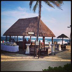 Popular reception venue at Dreams Puerto Aventuras. #dreamspuertoaventuras #destinationweddings Photo: cttravel