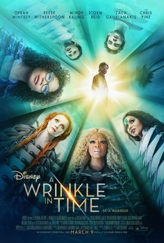 A Wrinkle in Time PDF printable coloring sheets and games. First look at new A Wrinkle In Time Trailer and Poster!
