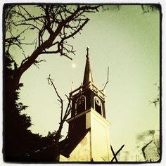 It's freezing now, around this old church in Oudorp, Holland. - @robmarijn- #webstagram