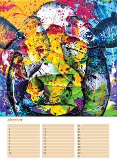 De prachtige kleurrijke koeienkunst A4 verjaardagskalender van kunstenaar Anita Ammerlaan is te koop via Bol.com voor slechts €13,95 verstuurd binnen Nederland.  Gemakkelijk, snel en veilig bestellen via Bol.com kan via deze link: www.bit.ly/2eaNEoM   YouTube-video van de prachtige A4 verjaardagskalender:  www.youtu.be/h_Dj0ZUF7k4
