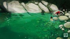 Afternoon Swim by tohdaryl.deviantart.com on @deviantART
