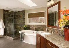 Natural Beauty - traditional - Bathroom - Seattle - Candace Nordquist Interiors