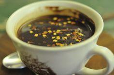 Schoon de Companje: Dark chocolate and chilli drink Contact Email, Corner, Bird, Chocolate, My Favorite Things, Street, Drinks, Eat, Tableware