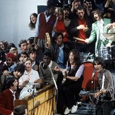 Today in 1968, The Beatles performed 'Hey Jude' on the UK television show 'Frost On Sunday' in front of an invited audience