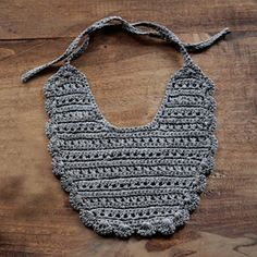 would be cute to knit patterns into it too
