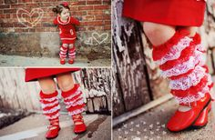 How sweet are these?! Only $6.99! GroopDealz | Little Gracie Boot Topper Leg Warmers in 8 colors