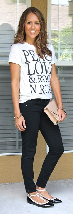 I have this shirt! Simple look. J's Everyday Fashion - Sole Society